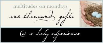 Multitudes on Mondays
