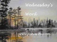 Grab button for Wednesday's Word