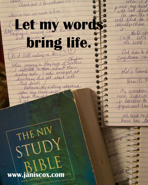 Let-my-words-bring-life
