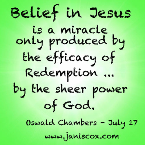 Belief-in-Jesus