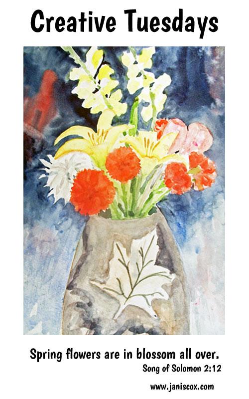 Spring-Flowers-Bouquet
