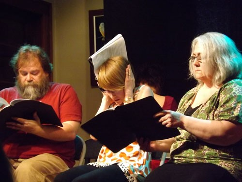 Reading of play by Marcia Laycock