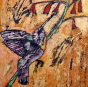 God Remains the Same - Hummingbird Batik