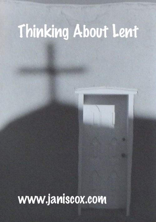 Lenten Thoughts