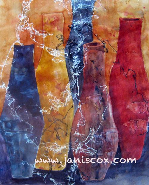 Ancient Pots - Janis Cox