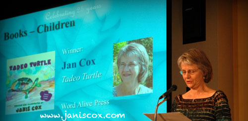 Janis Cox - Word Awards