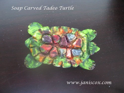 Soap Carved Tadeo Turtle